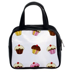 Colorful Cupcakes  Classic Handbags (2 Sides) by Valentinaart