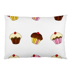 Colorful Cupcakes  Pillow Case by Valentinaart
