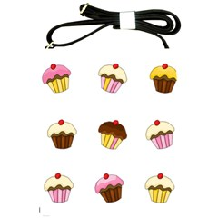 Colorful Cupcakes  Shoulder Sling Bags by Valentinaart