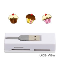 Colorful Cupcakes  Memory Card Reader (stick)  by Valentinaart