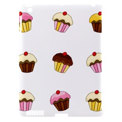 Colorful Cupcakes  Apple Ipad 3/4 Hardshell Case (compatible With Smart Cover) by Valentinaart