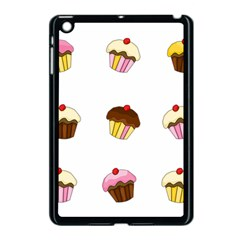 Colorful Cupcakes  Apple Ipad Mini Case (black) by Valentinaart