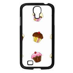 Colorful Cupcakes  Samsung Galaxy S4 I9500/ I9505 Case (black) by Valentinaart