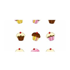 Colorful Cupcakes  Satin Wrap by Valentinaart