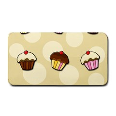 Colorful Cupcakes Pattern Medium Bar Mats by Valentinaart