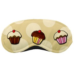 Colorful Cupcakes Pattern Sleeping Masks