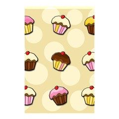 Colorful Cupcakes Pattern Shower Curtain 48  X 72  (small)