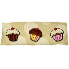 Colorful Cupcakes Pattern Body Pillow Case Dakimakura (two Sides)