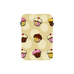 Colorful Cupcakes Pattern Apple Ipad Mini Protective Soft Cases by Valentinaart