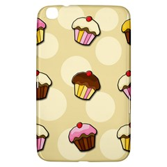 Colorful Cupcakes Pattern Samsung Galaxy Tab 3 (8 ) T3100 Hardshell Case  by Valentinaart