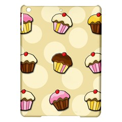 Colorful Cupcakes Pattern Ipad Air Hardshell Cases by Valentinaart