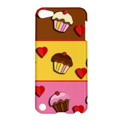 Love Cupcakes Apple Ipod Touch 5 Hardshell Case by Valentinaart