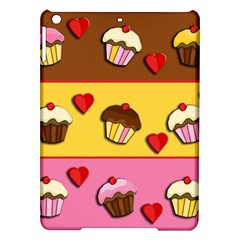 Love Cupcakes Ipad Air Hardshell Cases by Valentinaart