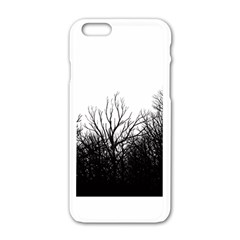 The Dark Mist Apple Iphone 6/6s White Enamel Case by Brittlevirginclothing