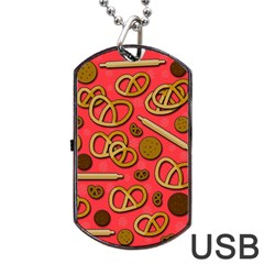 Bakery Dog Tag Usb Flash (one Side) by Valentinaart
