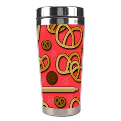 Bakery Stainless Steel Travel Tumblers by Valentinaart