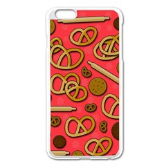 Bakery Apple Iphone 6 Plus/6s Plus Enamel White Case by Valentinaart