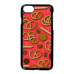 Bakery Apple Iphone 7 Seamless Case (black) by Valentinaart