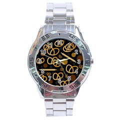 Bakery 2 Stainless Steel Analogue Watch