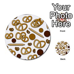 Bakery 3 Multi Purpose Cards (round)  by Valentinaart