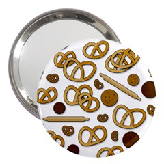 Bakery 3 3  Handbag Mirrors by Valentinaart