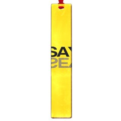 Say Yes Large Book Marks