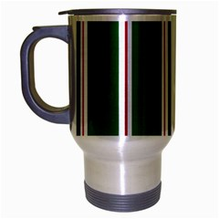 Green Line Travel Mug (silver Gray)
