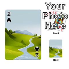 Scenery Playing Cards 54 Designs  by AnjaniArt