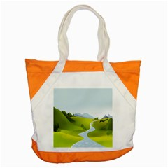 Scenery Accent Tote Bag