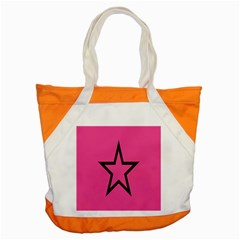 Star Accent Tote Bag by AnjaniArt