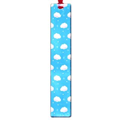Seamless Fluffy Cloudy And Sky Large Book Marks
