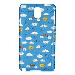 White Clouds Samsung Galaxy Note 3 N9005 Hardshell Case