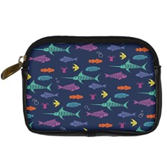 Twiddy Tropical Fish Pattern Digital Camera Cases by AnjaniArt