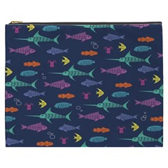 Twiddy Tropical Fish Pattern Cosmetic Bag (xxxl)