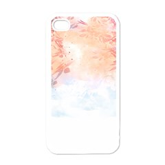 Beautiful Faded Nature  Apple Iphone 4 Case (white) by Brittlevirginclothing