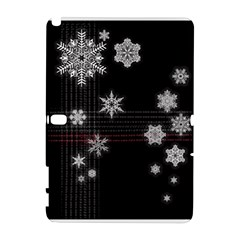 Shining Snowflakes Galaxy Note 1 by Brittlevirginclothing