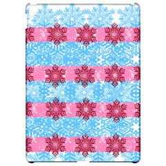 Pink Snowflakes Pattern Apple Ipad Pro 12 9   Hardshell Case by Brittlevirginclothing