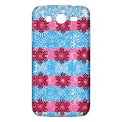 Pink Snowflakes Pattern Samsung Galaxy Mega 5 8 I9152 Hardshell Case  by Brittlevirginclothing