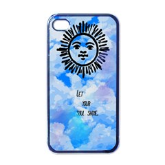 Let Your Sun Shine  Apple Iphone 4 Case (black) by Brittlevirginclothing