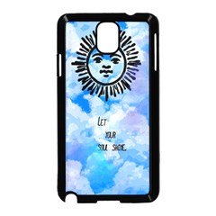 Let Your Sun Shine  Samsung Galaxy Note 3 Neo Hardshell Case (black) by Brittlevirginclothing
