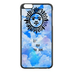 Let Your Sun Shine  Apple Iphone 6 Plus/6s Plus Black Enamel Case by Brittlevirginclothing