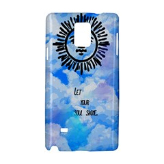 Let Your Sun Shine  Samsung Galaxy Note 4 Hardshell Case by Brittlevirginclothing