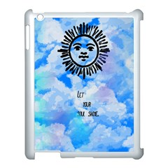Let Your Sun Shine  Apple Ipad 3/4 Case (white) by Brittlevirginclothing
