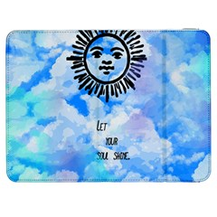 Let Your Sun Shine  Samsung Galaxy Tab 7  P1000 Flip Case by Brittlevirginclothing