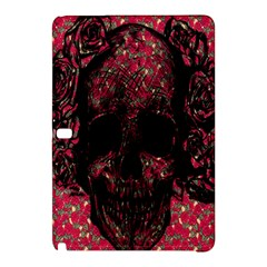 Vintage Pink Flowered Skull Pattern  Samsung Galaxy Tab Pro 10 1 Hardshell Case by Brittlevirginclothing