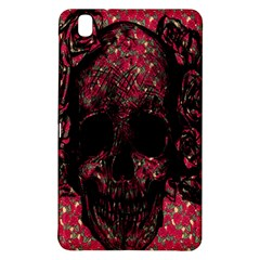 Vintage Pink Flowered Skull Pattern  Samsung Galaxy Tab Pro 8 4 Hardshell Case by Brittlevirginclothing