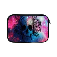 Colorful Space Skull Pattern Apple Ipad Mini Zipper Cases by Brittlevirginclothing