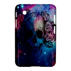 Colorful Space Skull Pattern Samsung Galaxy Tab 2 (7 ) P3100 Hardshell Case  by Brittlevirginclothing