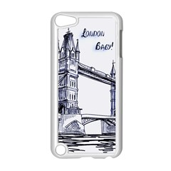 Lovely London Baby  Apple Ipod Touch 5 Case (white) by Brittlevirginclothing