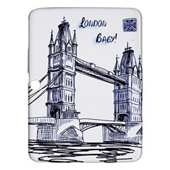Lovely London Baby  Samsung Galaxy Tab 3 (10 1 ) P5200 Hardshell Case  by Brittlevirginclothing